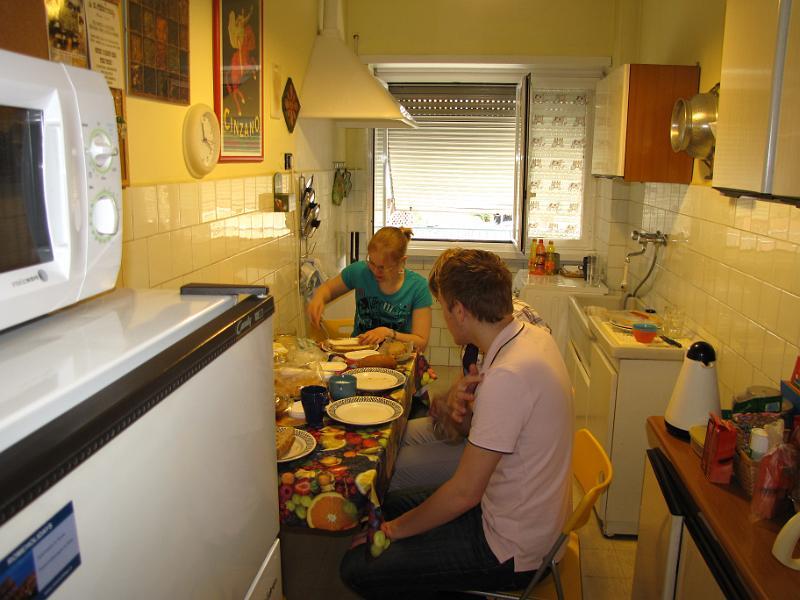 Vakantie in rome keuken apartement - Fotos van keuken amenagee ...